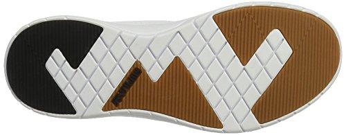 Supra Flow Run - Zapatillas de casa Hombre Weiß (White-White)