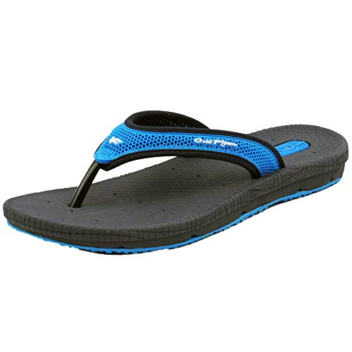 Gold Pigeon Shoes #279 Simplus Flip Flop Sandals : 5842 Blue Navy, EU45 (Women Size 13-13.5 / Men Size 10.5-11)
