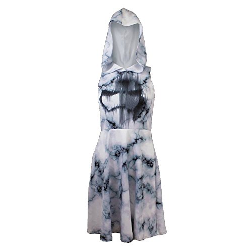 Star Wars Stormtrooper Marble Print Womens Hoodie Dress | XL - Star Wars Dresses