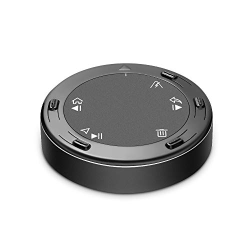 Bluetooth Car Kit, Bluetooth Button Media Remote Control, Tsumbay TouchAi Smart Touch Control for Android & Google AI Voice Assistant, HandsFree Call, GPS Navigation, Music- for Android Cellphone Only (Best Android Touchpad App)