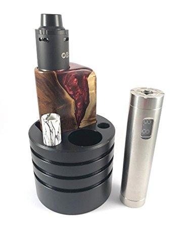 Eigenmarke Getränkehaltereinsatz für e-Zigarette – Autohalter e-Zigarette – für Boxen bis 4,5cm Länge und 2,6cm Breite…