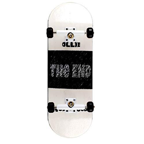 NOAHWOOD Wooden PRO Fingerboards (Deck,Truck,Wheel / a Set) (The Ollie End) ()