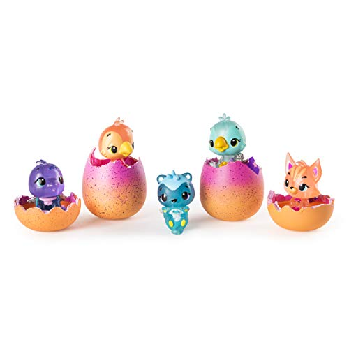 Hatchimals CollEGGtibles 4-Pack + Bonus Season 4 Hatchimals CollEGGtible, Ages 5 & Up (Styles and Colors May Vary) -