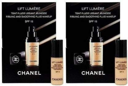 LIFT LUMIÈRE FIRMING & SMOOTHING SUNSCREEN FLUID MAKEUP BROAD SPECTRUM SPF 15 2.5ml x 2 pcs #20 - Lumiere Spf 15 Foundation