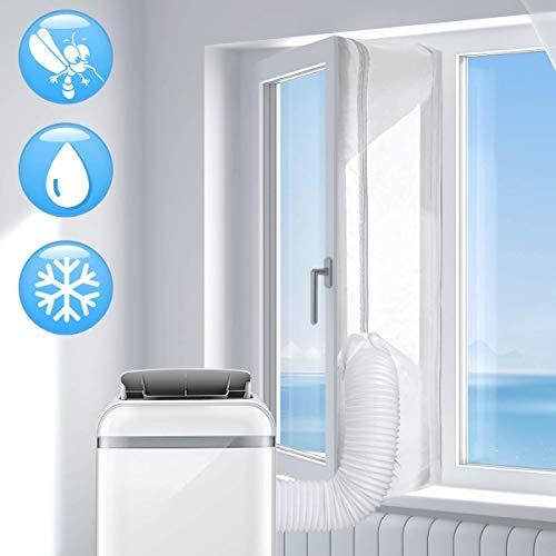 🥇 AGPTEK 300CM Aislamiento Ventanas para Aire Acondicionado Móvil y Secadora