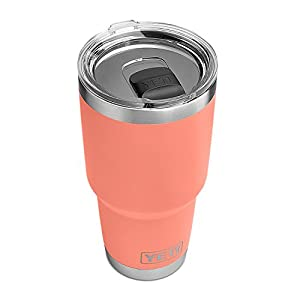 YETI Rambler 30oz with MagSlider Lid, LE Coral
