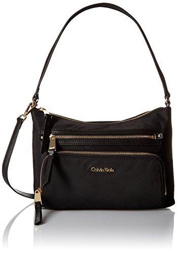 Calvin Klein Zip Around Saffiano Satchel by Calvin Klein