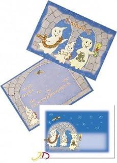 6 Einladungskarten Geister U0026 Gespenster