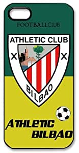 Athletic Bilbao Logo FC HD image case cover for iphone 5 black A Nice Present by ruishername