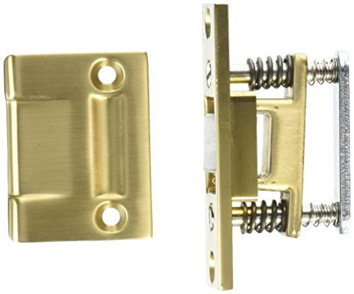 Baldwin 0432033 Roller Latch, Vintage Brass