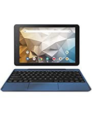 RCA Tablet Quad-Core 2GB RAM 32GB Storage IPS HD Touchscreen WiFi Bluetooth with Detachable Keyboard Android 9 Pie (Navy)