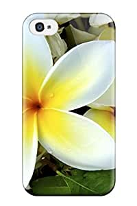 Best Hard Plastic Iphone 4/4s Case Back Cover,hot White Yellow Flowers Case At Perfect Diy