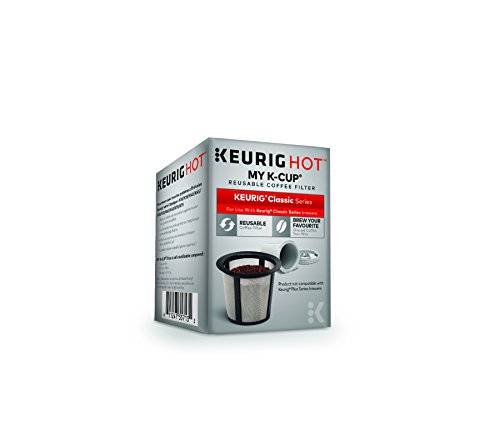 Keurig My K-Cup Reusable Ground Coffee Filter, Compatible with All  1.0/Classic Keurig K-Cup Pod Coffee Makers (Best Coffee For Keurig My K Cup)