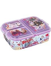 Theonoi Kids lunchbox / lunchbox / sandwichbox selecteerbaar: Frozen PJ Masks Spiderman Avengers - Mickey - Paw van kunststof BPA vrij - leuk cadeau voor kinderen (Frozen II)