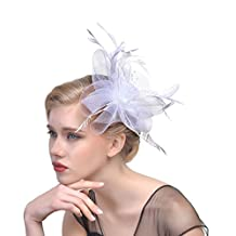 Women Chic Fascinator Hat Tea Party Church Headwear Bridal Headpiece