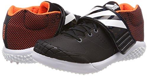 Unisex Javelin Negbas de Ftwbla 000 Negro Atletismo Adizero Adulto Adidas Zapatillas Naranj 45wXqF