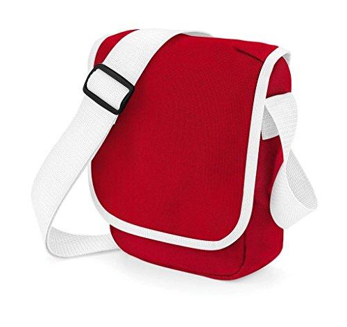 White Classic 2 bandolera Bolso mini Red Bagbase ltiros wqXp08Wx
