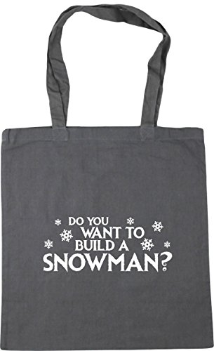 Tote Build a Graphite Want Grey Gym 42cm HippoWarehouse Shopping litres You 10 to Beach Bag Do x38cm Snowman FqxHA0