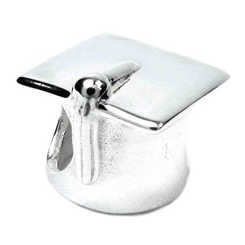 Queenberry Charm a Forma di Cappello da Laurea in Argento Sterling ... 858e96aa37fa