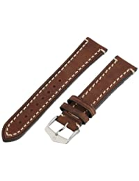 Hirsch 109002-10-20 20 -mm  Genuine Calfskin Watch Strap