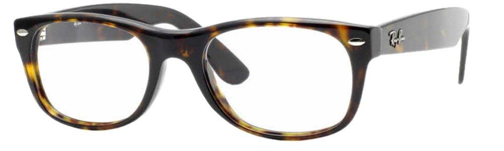 Ray-Ban RX5184 Eyeglasses (50 mm, Havana Frame) by Ray-Ban
