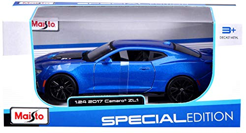 Maisto 1: 24 2017 Chevrolet Camaro Zl1 Diecast Vehicle (Colors May Vary)