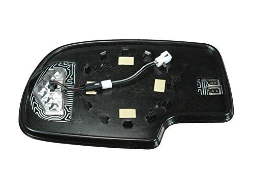 Silverado Gm Sierra 1500 2500 3500 03 - 07 Power Heated W Signal Mirror Glass Rh
