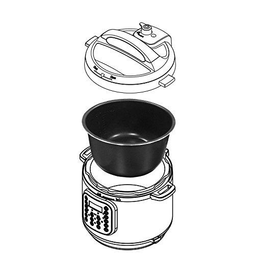 Genuine Instant Pot Ceramic Non-Stick Interior Coated Inner Cooking Pot - 3 Quart by Instant Pot (Image #2)
