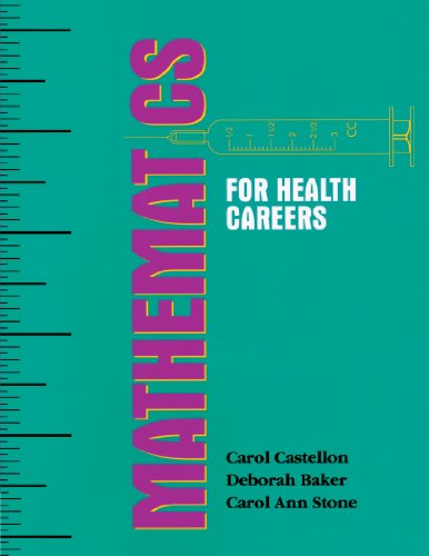 Mathematics for Health Careers by Cengage Learning