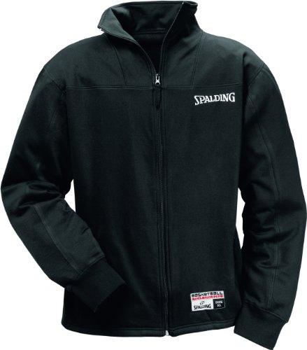 Spalding Herren Authentic Zipper Jacke, schwarz (black), XXXL, 300206301