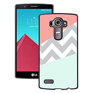 Popular LG G4 Case, Beautiful Designed Case With Case Coral Mint Grey Chevron Black LG G4 Cover