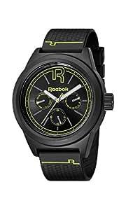 Reebok RC-CNL-G5-PBPB-BY Reloj Análogo para Hombre, Color Negro