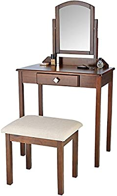 Phenomenal Amazon Com Asdf Easy To Assemble Dressing Table With Dailytribune Chair Design For Home Dailytribuneorg
