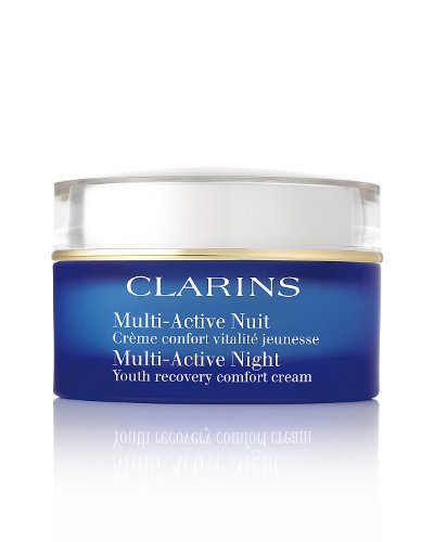 (CLARINS Multi-Active Night Youth Recovery Comfort Cream, 1.7 Ounce)