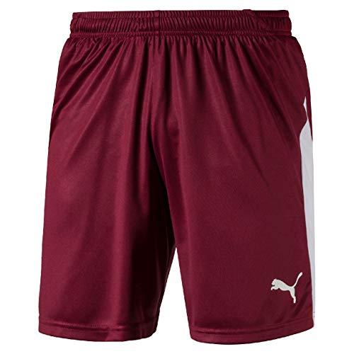 Rosso Pantaloncino puma cordovan Puma Shorts Liga White Uomo a6qwWHFZ