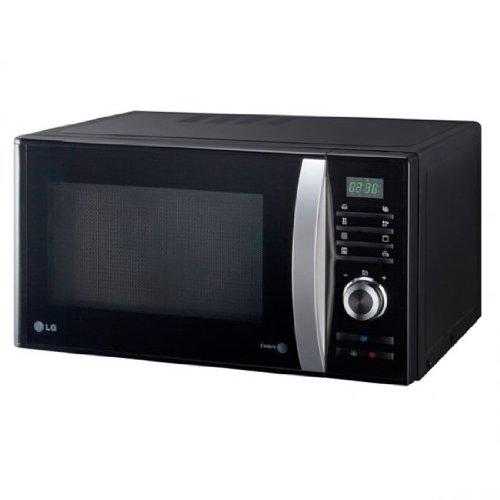 LG MH6882B - Microondas con grill, botón ECO, 28 litros de capacidad, potencia 850 W y potencia grill 1000 W, color negro