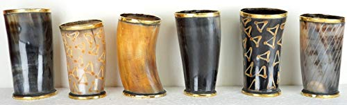 - New Medieval Drinkware Beer For Breweriana Collectibles Horn Mug For Drink Beer