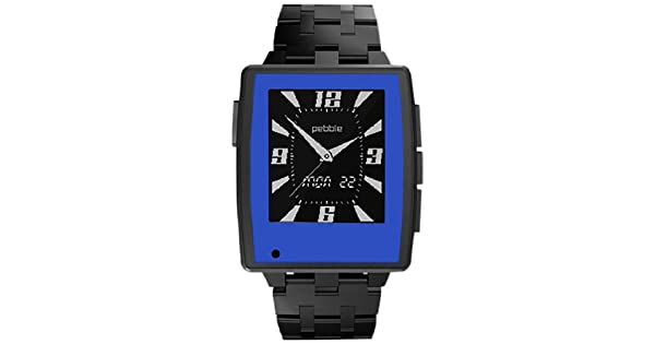 Amazon.com: Color Series Skins/Wraps para Pebble acero reloj ...
