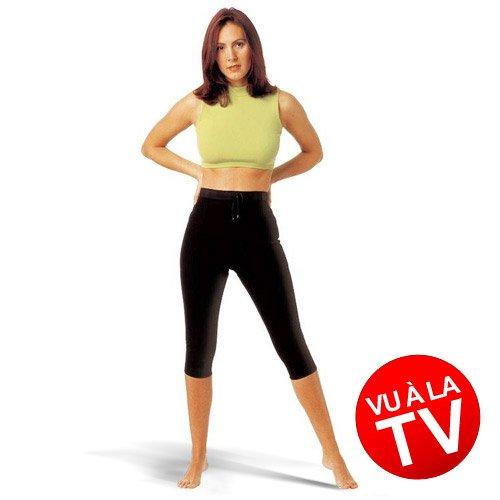 Anti Cellulite Hose Shorts aus Bambus-Viskose und Turmalin® Größe S 34/36 bekannt aus GALA