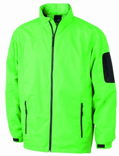 Funktionsjacke carbon Verde Giacca amp; Uomo limegreen Nicholson James ZqHaSH