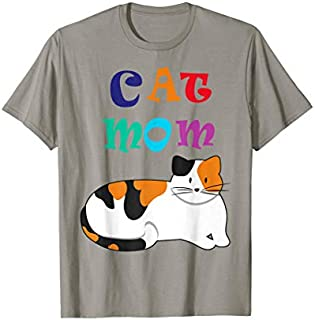 Cat Mom , Cat Lover Gift , Cat s T-shirt | Size S - 5XL