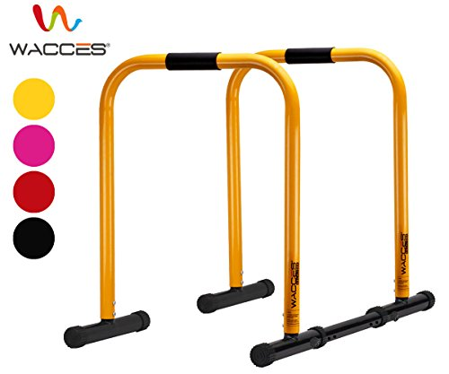 Wacces Heavy Duty Functional Fitness Station Stabilizer Dip Stands
