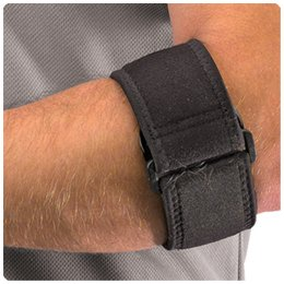 Mueller Tennis Elbow Brace w. Gel Pad Compression Support for Elbow Pain / Golfe (Mueller Elbow Support)