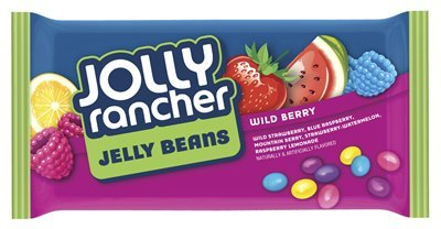Jolly Rancher Jelly Beans in Wild Berry flavors, 14-Ounce ba