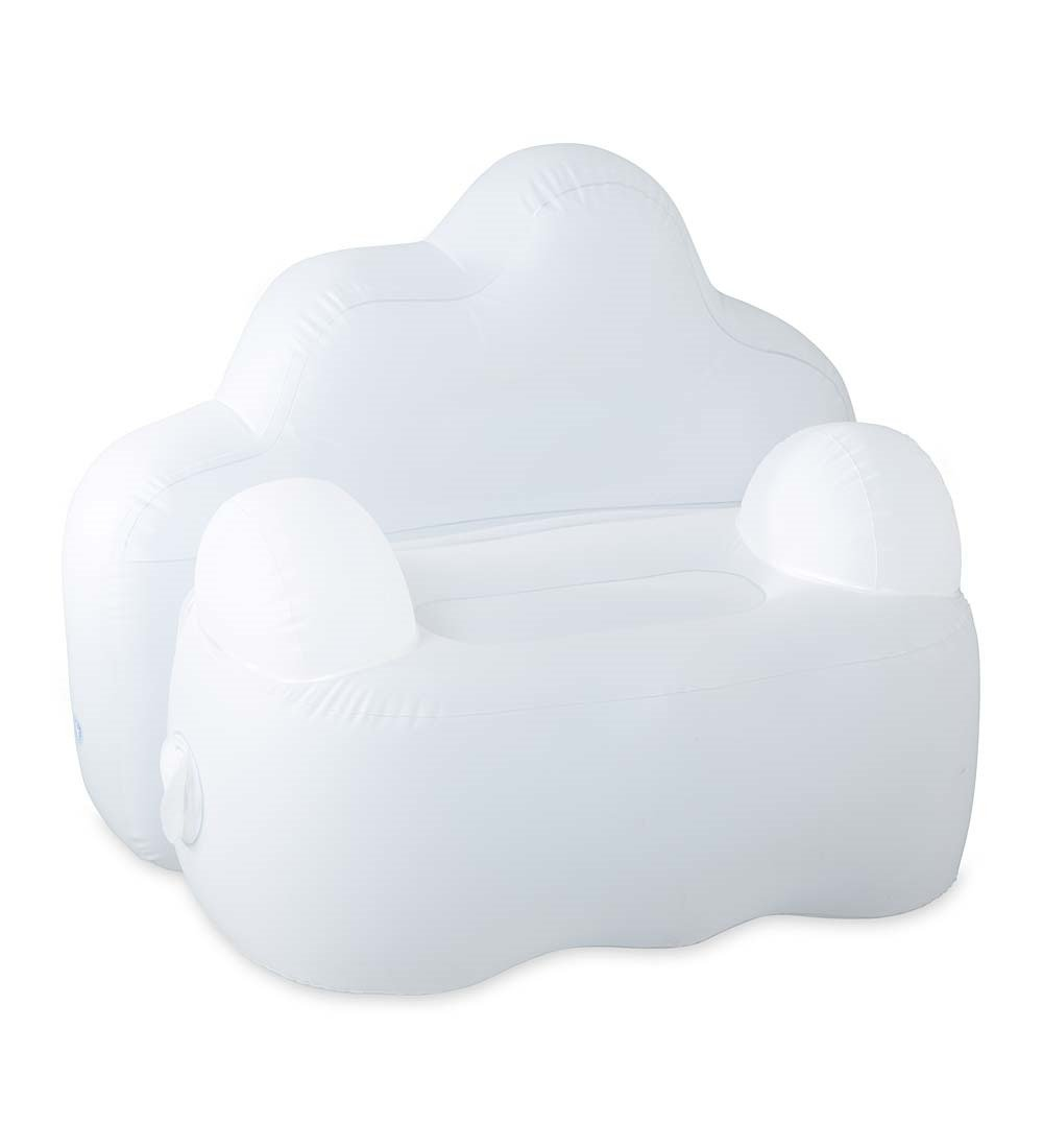 Light-Up Inflatable Cloud Chair