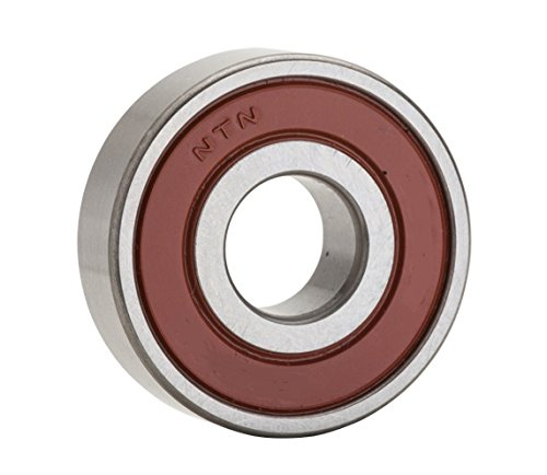 NTN Bearing 6203LB Single Row Deep Groove Radial Ball Bearing, Non-Contact, Normal Clearance, Steel Cage, 17 mm Bore ID, 40 mm OD, 12 mm Width, Single Seal from NTN Bearing