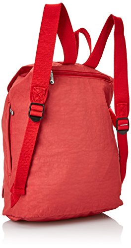 Kipling Damen Fundamental Rucksack, 42x42x16.5 cm Rot (Spicy Red C)