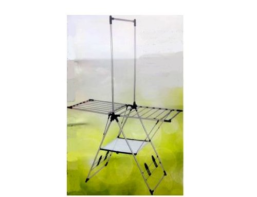 Greenway Indoor Outdoor Drying Rack with Mesh Shelf/GFR2019S