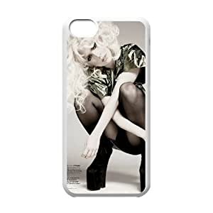 C-EUR Print Lady Gaga Pattern Hard Case for iPhone 5C by mcsharks