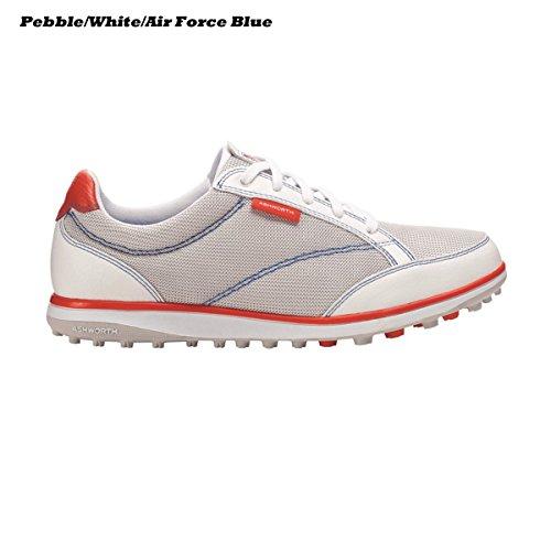 Ashworth Womens Cardiff Adc Golf Shoes, Pebble/White/Air ...